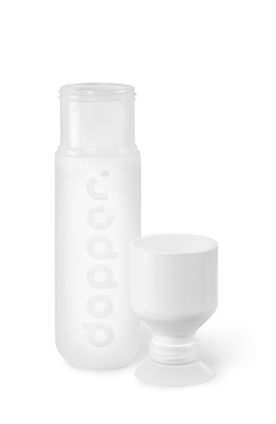 Pure White Dopper Product Cup Off